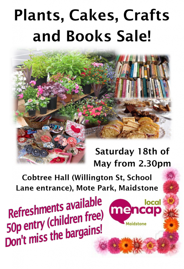 Plants, Cakes, Crafts and Book Sale!